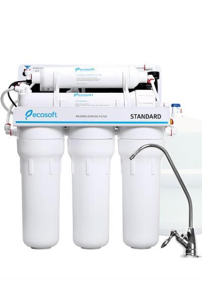 Система обратного осмоса Ecosoft MO550PECOSTD (насос)