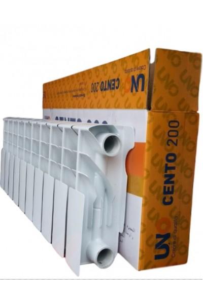 Низкие биметаллические радиаторы Uno Cento 200/100 мм