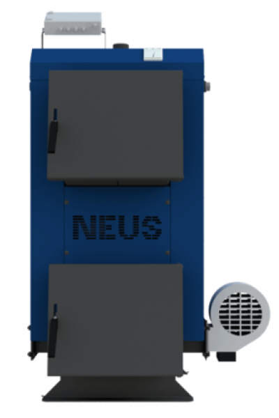 Твердотопливный котел Неус Эконом 16 кВт Турбо (автоматика)