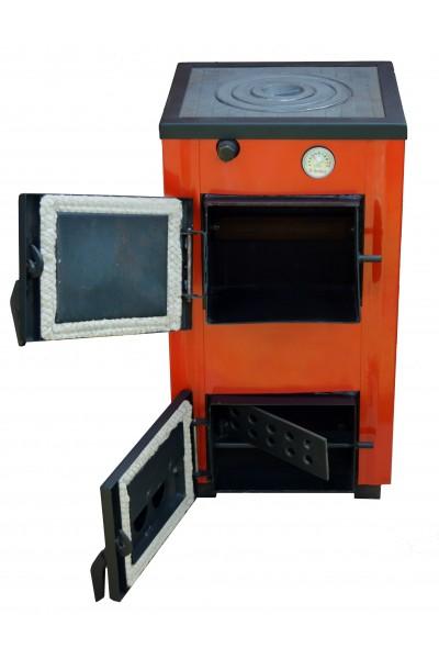 Твердопаливний котел - плита Amica Optima 14 кВт