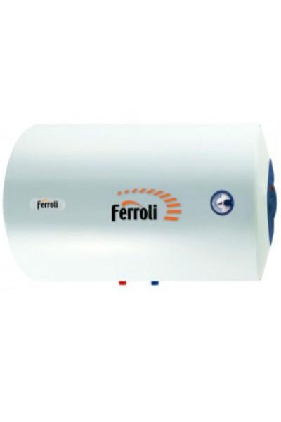 Электрический водонагреватель Ferroli Blue Ocean SEH 80 литров, горизонтальный