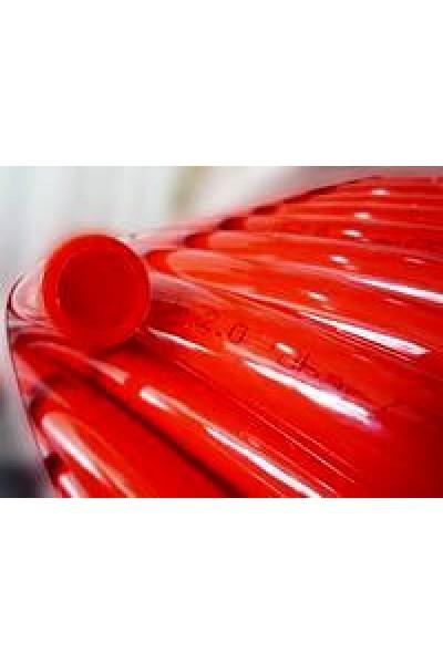 Труба для теплого пола из сшитого полиэтилена Unidelta Triterm Rosso 16x2.0