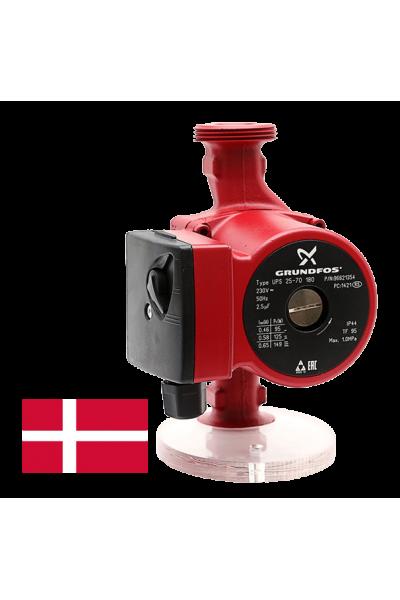 Циркуляційний насос Grundfos UPS 25-60 180 - орігінал, Данія