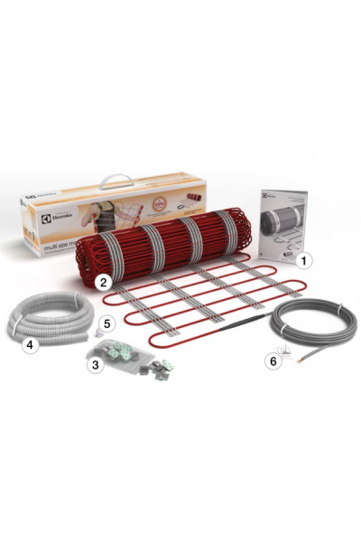 Растягивающийся электрический мат Electrolux Multi Size Mat 3 - 4 м2
