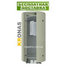 Теплоакумулятор Кронас ТА1.2000 л з ГВП нержавійка