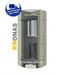 Теплоакумулятор Кронас ТА2.5000 ГВП (2 змійовика)