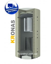 Теплоаккумулятор Кронас ТА2.5000 ГВС (2 змеевика)