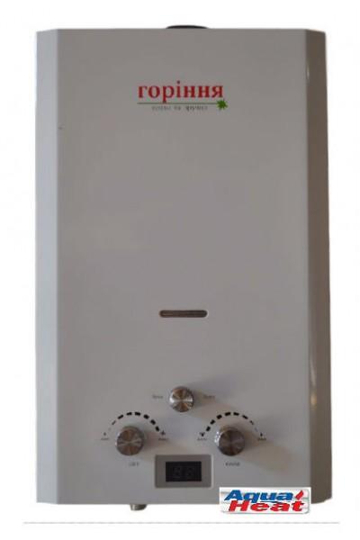 Газова колонка Aqua Heat (Горіння) 10 LCD