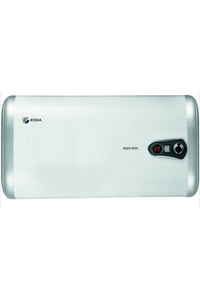 Плоский горизонтальний бойлер 50 літрів RODA Aqua INOX 50 H