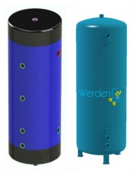 Буферна ємність Werden Eco 1000 літрів з ізоляцією