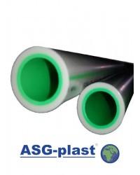 Поліпропіленова труба ASG Plast ПН 20 Ø 90х15
