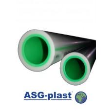 Поліпропіленова труба ASG Plast ПН 20 Ø 110х18,4