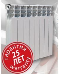 Біметалевий радіатор Ekvator 500/76 6 секцій