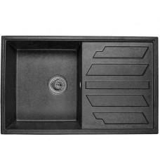 Гранітна мийка Minola MPG 1150-79 чорний колір