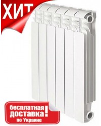 Біметалевий радіатор Breeze Plus 500/80 10 секцій