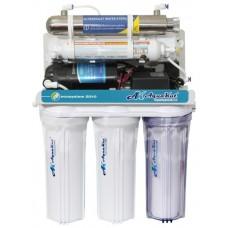 Фильтр Осмос AquaKut с помпой 75G RO-6 А03 с UV Лампа