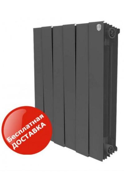 Биметаллические радиаторы Royal Thermo Pianoforte Noir Sable Италия