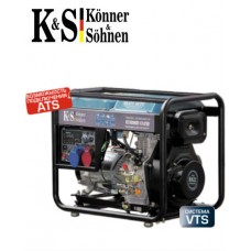 Генератор Könner&Söhnen KS 9100HDE-1/3 ATSR