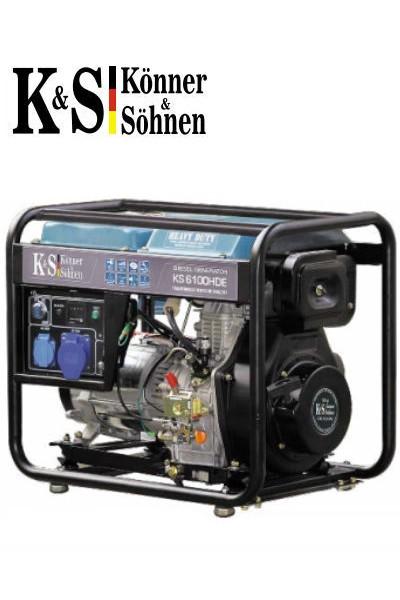 Генератор Könner&Söhnen KS 6100 HDE