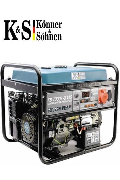 Генератор Könner&Söhnen KS 7000E-3 ATS