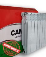 Итальянские биметаллические радиаторы Camino 500/96 мм