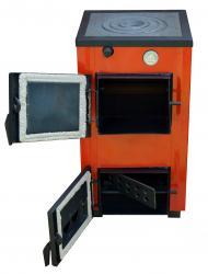Твердотопливный котел - плита Amica Optima 14 кВт