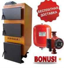 Котел длительного горения Кронас Уник 17 кВт Украина Польша