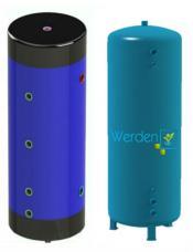 Аккумулирующая емкость Werden Eco 1000 литров с изоляцией