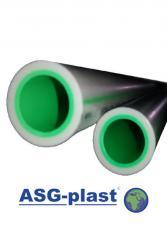 Труба полипропилен ASG Plast ПН 20 Ø 110х18,4