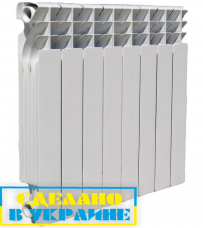Биметаллический радиатор Ekvator 4 секции