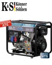 Генератор Könner&Söhnen KS 8100HDE-1/3 ATSR