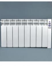Низкие электрорадиаторы Оптимакс 8 секций