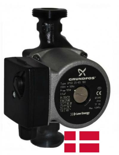 Циркуляционный насос Grundfos UPSO 25-40 130 Дания