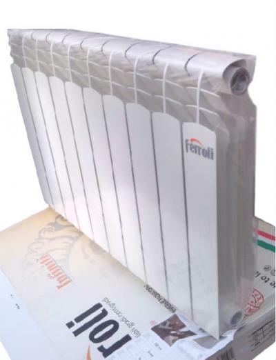 Алюминиевый радиатор Ferroli Pol. Titano 500/98 Италия Ферроли Титано