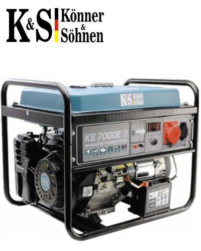 Генератор Könner&Söhnen KS 7000E-3
